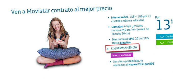 Movistar cobra hasta 30 euros de penalización por las tarifas Vive